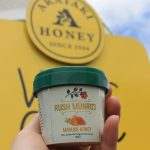 Hawke's Bay's Arataki Honey sells honey flavoured ice-cream made by local ice-cream company, Rush Munro's.